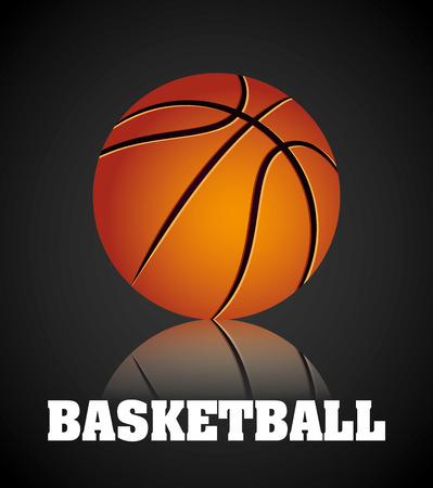 balon baloncesto: dise�o campeonato de baloncesto