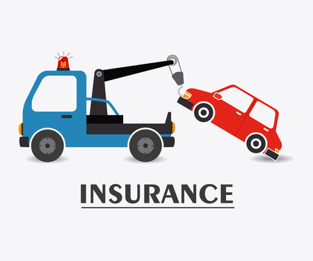 insurance: Insurance design over white background, vector illustration.