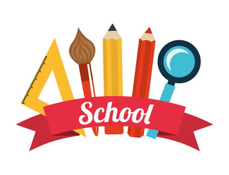 school supplies: school supplies design
