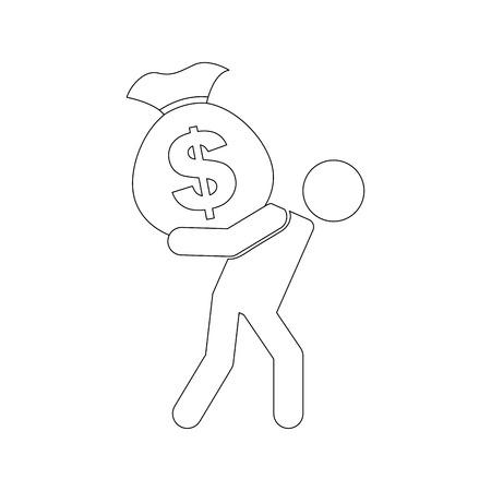 silhouete: money concept design