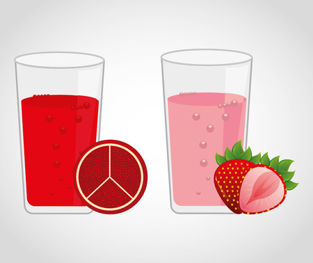 grapefruit juice: juice fruit design