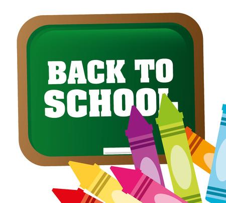 utiles escolares: de nuevo a dise�o de la escuela Vectores