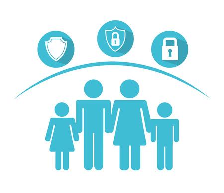Diseño de concepto de seguros Foto de archivo - 38274432
