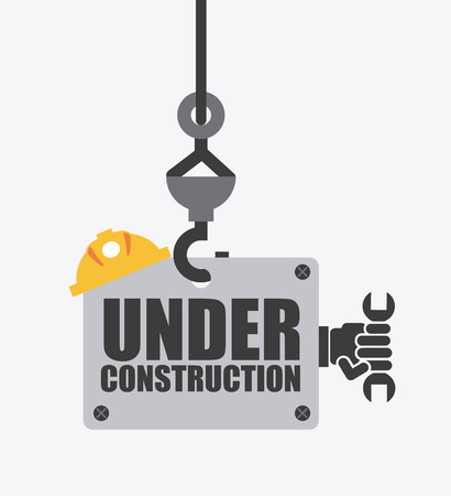 under construction sign: under construction design