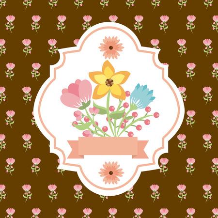 beautiful flower: beautiful flower design Illustration