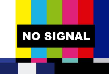 tv no signal design