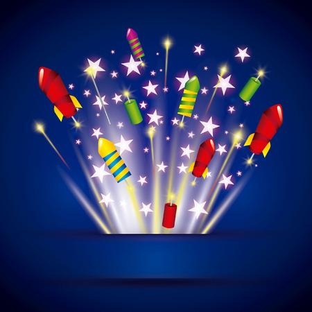 pyrotechnic fireworks  design