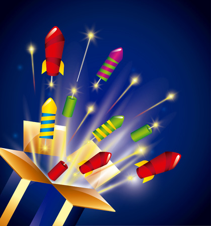 pyrotechnic: pyrotechnic fireworks  design