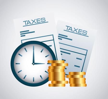 irs: taxes concept design