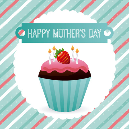 mothers day design, vector illustration graphic Vector