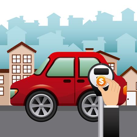 city traffic: city traffic design, vector illustration eps10 graphic