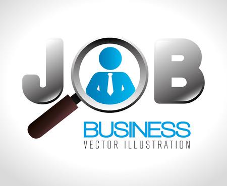 Business design over white background, vector illustration.