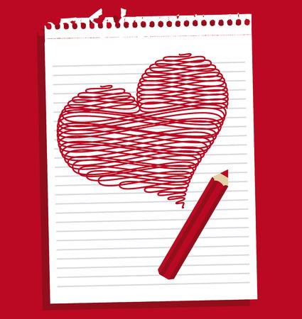 love icon design, vector illustration graphic Vector