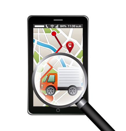gps concept design, vector illustration graphic