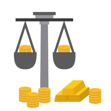 money concept design, vector illustration graphic Vector