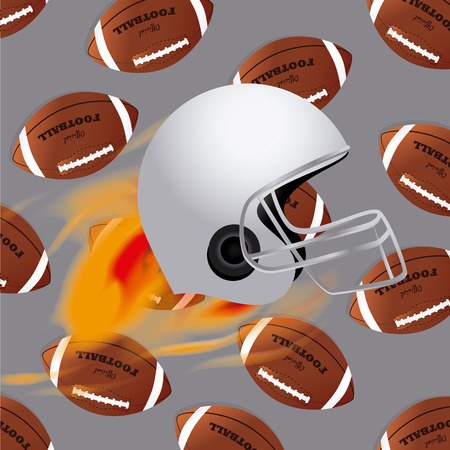 Sports design over gray background, vector illustration. Vector