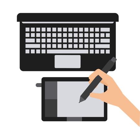 graphic: graphic designer design, vector illustration eps10 graphic