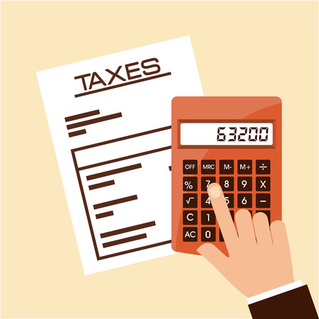 tax: taxes concept design, vector illustration eps10 graphic