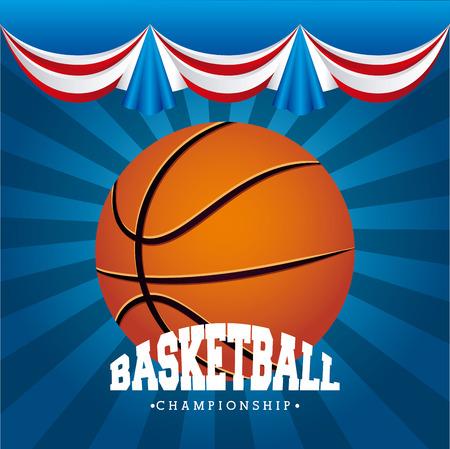 courtain: basketball sport design, vector illustration eps10 graphic Illustration