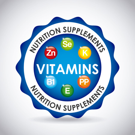 b1: nutrition supplements design, vector illustration eps10 graphic