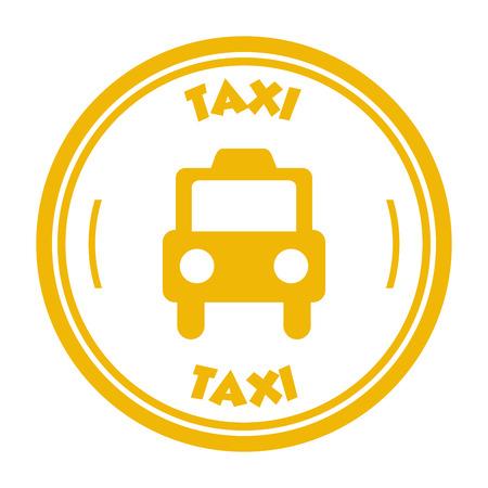 taxi sign design, vector illustration eps10 graphic Banco de Imagens - 38664011