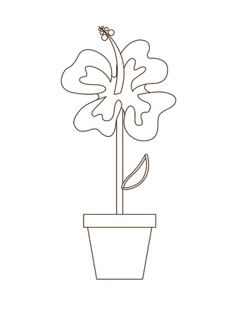 flowerpot: flowerpot icon design, vector illustration eps10 graphic