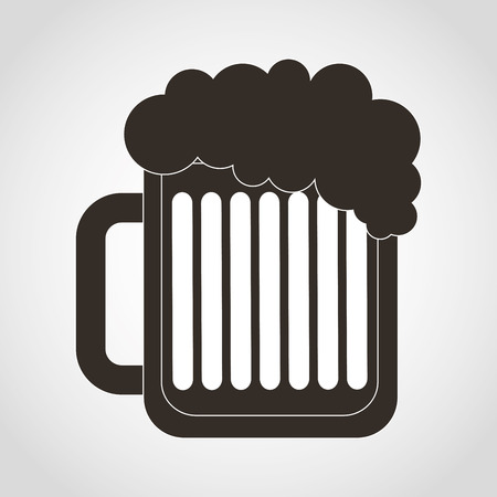 draught: beer icon design, vector illustration eps10 graphic Illustration