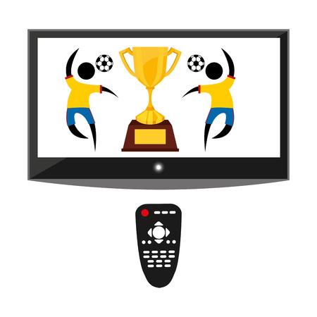 tv entertainment design, vector illustration eps10 graphic Vector
