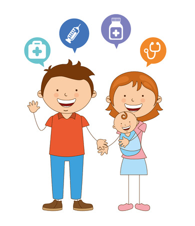 cute couple design, vector illustration eps10 graphic Vector