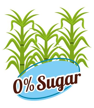 sugar free design, vector illustration eps10 graphic
