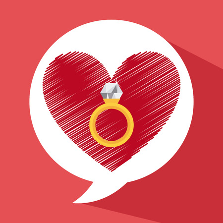 love card design, vector illustration eps10 graphic Vector