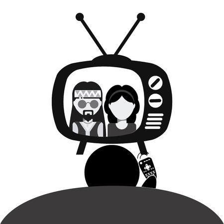 antena: tv entertainment design, vector illustration eps10 graphic