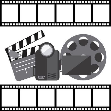film concept design, vector illustration eps10 graphic Vector