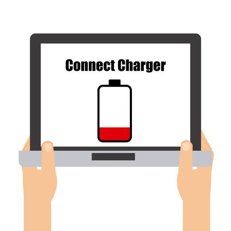 battery concept design, vector illustration eps10 graphic Vector