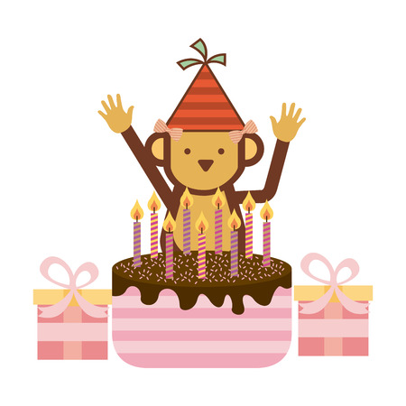 birthday party design, vector illustration eps10 graphic Vector