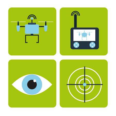 無人機の技術設計、ベクトル図 eps10 グラフィック 写真素材 - 38808879