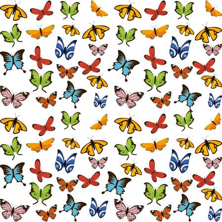 mariposas volando: butterflies flying design, vector illustration eps10 graphic