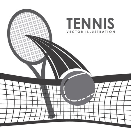 tennis sport design, vector illustration eps10 graphic