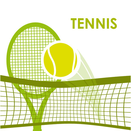 tennis sport design, vector illustration eps10 graphic Imagens - 38949632