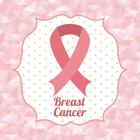breast cancer awareness: breast cancer design, vector illustration eps10 graphic