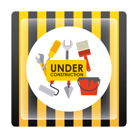 under construction design, vector illustration eps10 graphic Vector