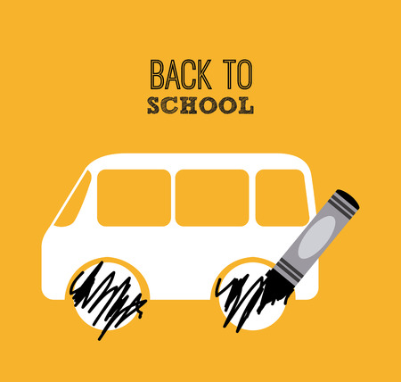 back view student: back to school design, vector illustration eps10 graphic