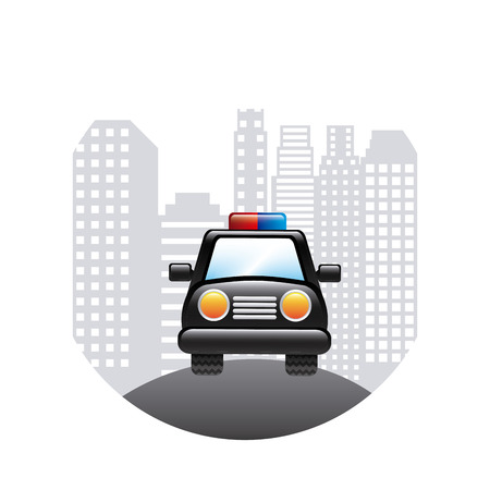 patrol police design, vector illustration eps10 graphic Vector