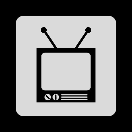 antena: tv icon design, vector illustration graphic