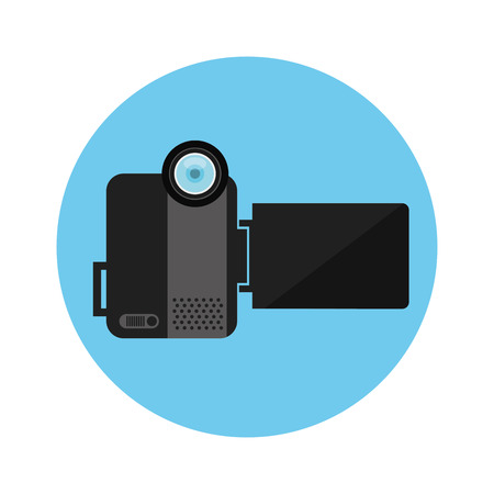 handycam: camera concept design, vector illustration eps10 graphic
