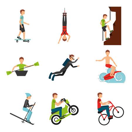 extreme sport design, vector illustration  graphic