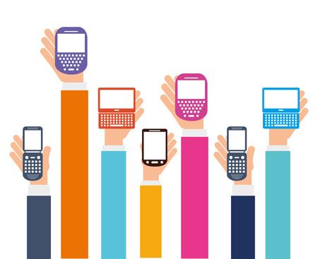 cellphone icon: cellphone icon design, vector illustration graphic Illustration