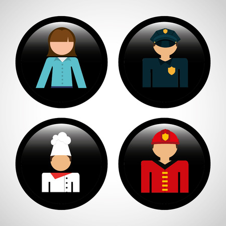 jobs: jobs icons design, vector illustration eps10 graphic