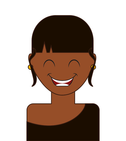 express feelings: avatar expression design, vector illustration graphic