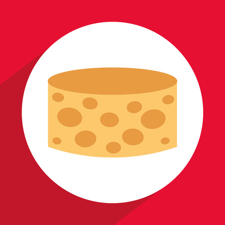edibles: cheese icon design, vector illustration graphic